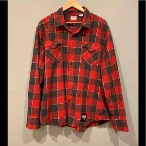 Levi's NFL Tampa Bay Buccaneers Flannel Shirt XXL